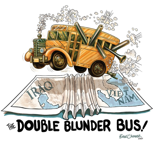 The Double Blundur Bus
